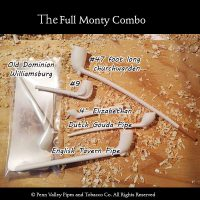 The full Monty Pipe Combination at Pipeshoppe.com