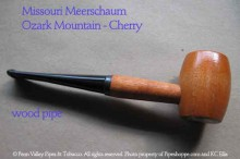 Ozark Mnt. Cherry Wood Pipe