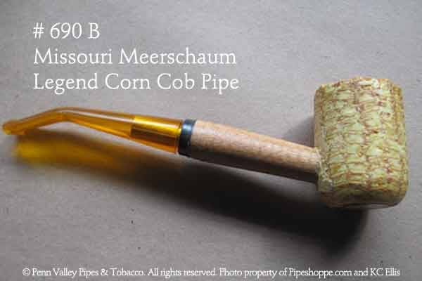 Legend corn cob pipe