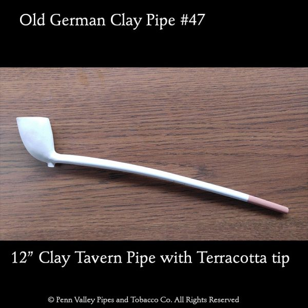 Old German Clay tavern pipe