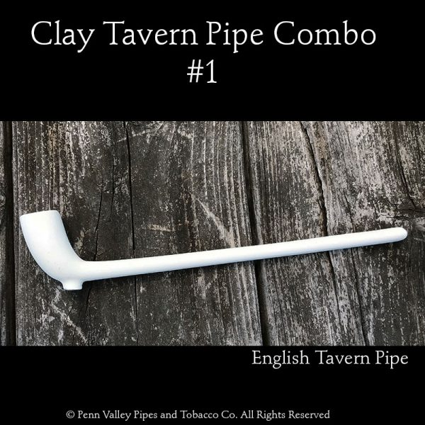 Two clay Tavern pipe combination at Pipeshoppe.com