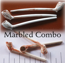 Marbled Clay Pipes