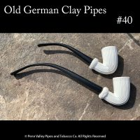 Old German Clay pipe #40 a Vienna Coffeehouse pipe at Pipeshoppe.com