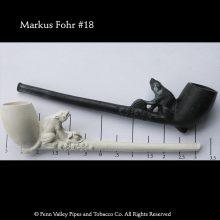 Old German Clay Pipe #18