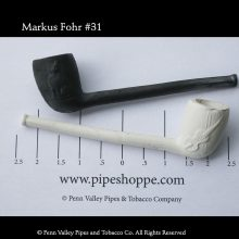 The cat and the fiddle clay tobacco pipe from Old German Clay Pipes