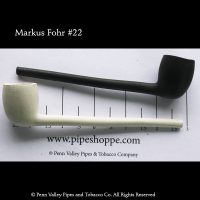 Old German Clay pipe #22