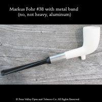 Markus Fohr #38 with aluminum band