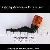 Lady's Leg briar pipe with Ebonite stem