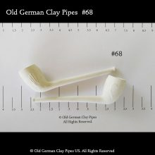 Old German Clay Pipe #68