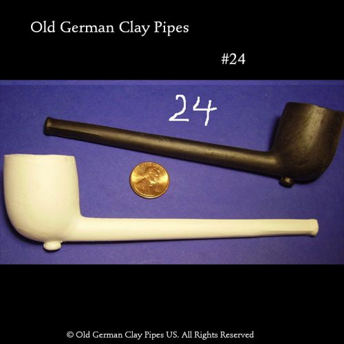 Old German Clay Pipes #24
