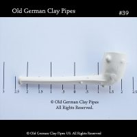 cheap tobacco pipes -Old German Clay Pipes #39