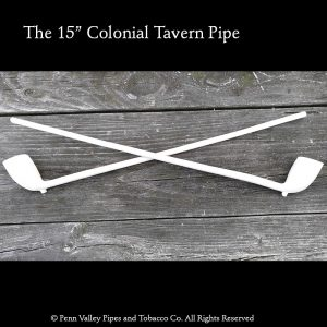 "Clay tobacco pipes: The new 15"" clay tavern pipe"