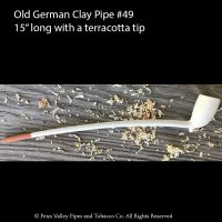 Old German Clay Pipe #49