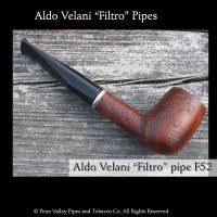 Aldo Velani Filter pipes