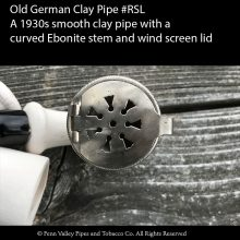 Old German Clay Pipe RSL