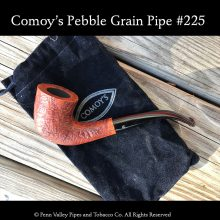 Comoy's Pebble Grain pipe #225