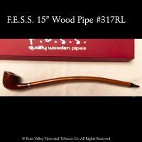 F.E.S.S. Imported wood churchwarden pipe