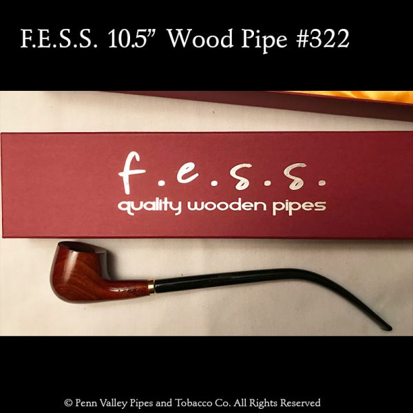 F.E.S.S. wood churchwarden pipe