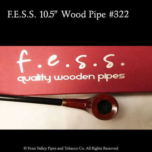 F.E.S.S. wood churchwarden pipe