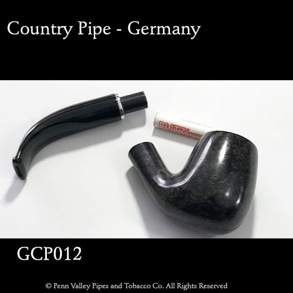 German Country Pipe - briar filter pipe at Pipeshoppe.com