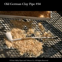 Old German Clay Pipe #34