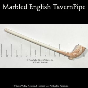 marbled English tavern pipe