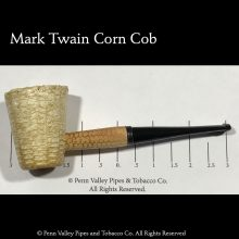 Mark Twain Corn Cob Pipe