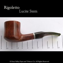 Rigoletto Italy Briar filter pipe