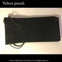 black velvet pipe pouch