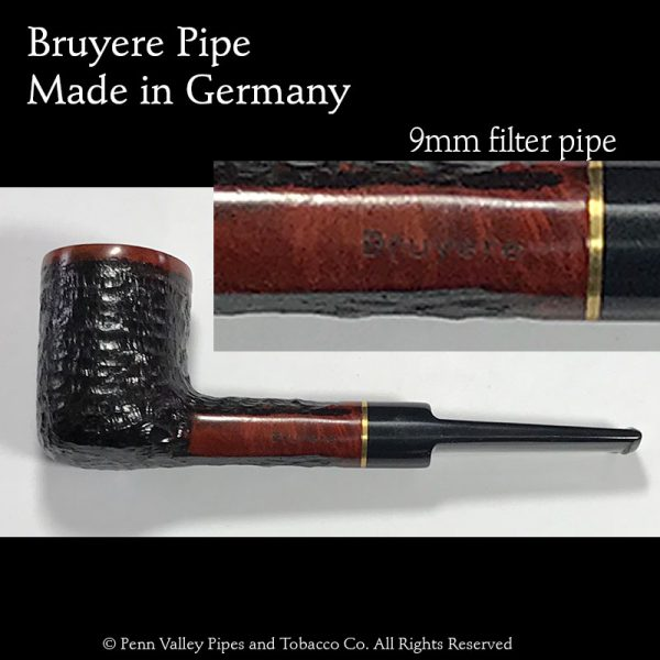Bruyere Pipe -Rusticated - Pipeshoppe.com