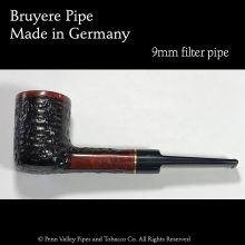 Bruyere Pipes Rusticated - Penn Valley Pipes