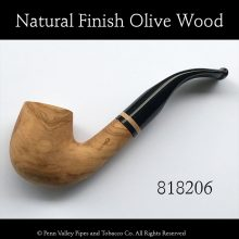Hanseatic Olive Wood Pipe at Pipeshoppe.com