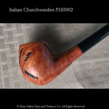 Rusticated Italian Churchwarden