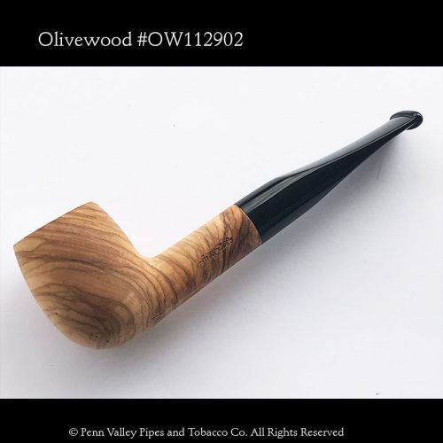 German made Mediterranean Olivewood pipe found at Penn Valley Pipes | Pipeshoppe.com