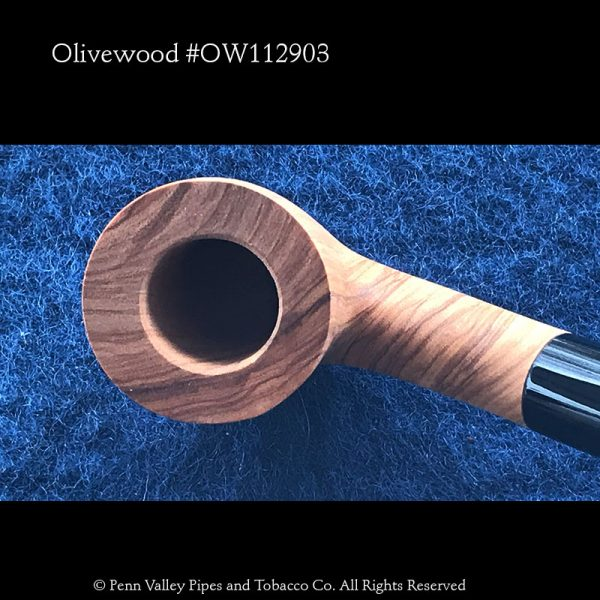 Hanseatic Olivewood Pipe at Pipeshoppe.com