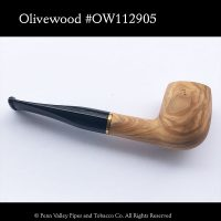 Mediterranean Olivewood pipe found at Penn Valley Pipes | Pipeshoppe.com