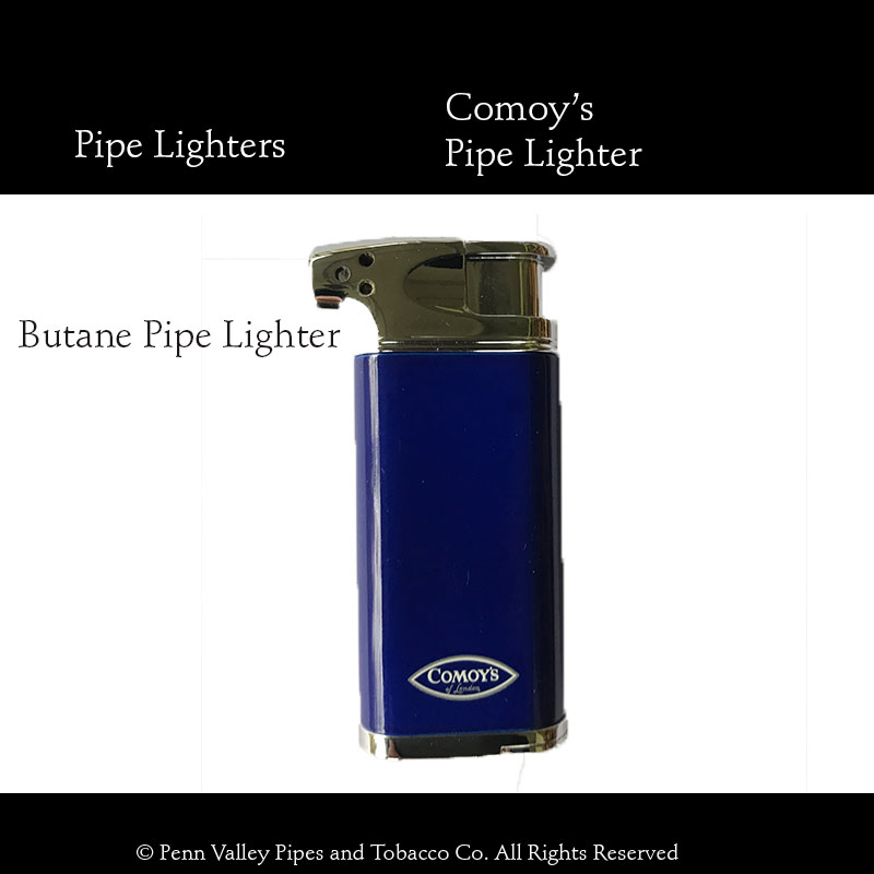 Comoy's Soft Flame Pipe Lighter - Penn Valley Pipes