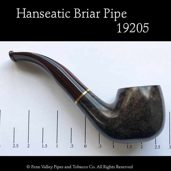 Hanseatic briar tobacco pipe at Pipeshoppe.com