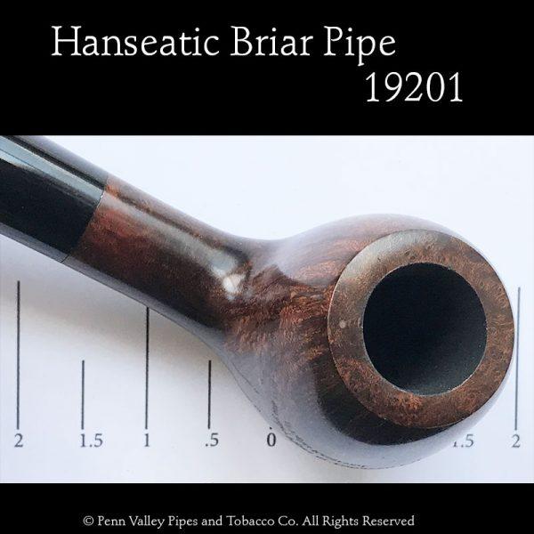 Hanseatic German-made briar pipe at Pipeshoppe.com