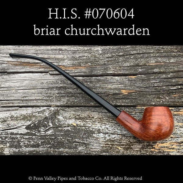 H.I.S. churchwarden pipes at Pipeshoppe.com