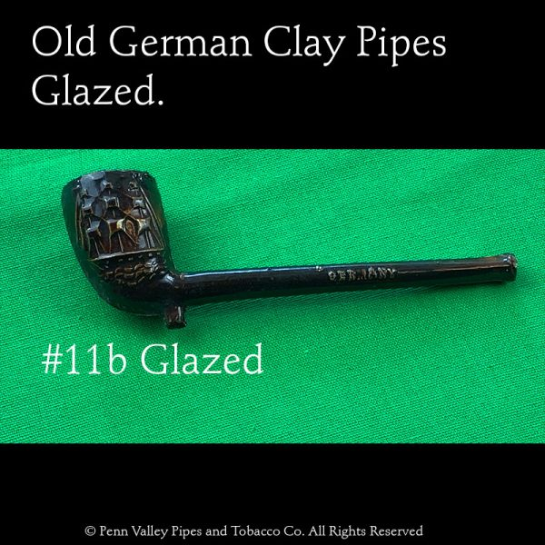 Old German Glazed pipes at Pipeshoppe.com