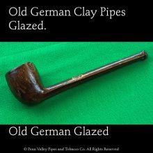 Glazed clay Pipes