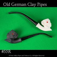 Old German Clay Pipe -The Royal Princess at Pipeshoppe.com