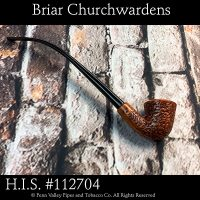 Imported Italian H.I.S. briar churchwardens at Pipeshoppe.com