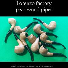Lorenzo pear wood pipes at Pipeshoppe.com