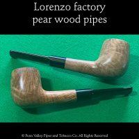 Lorenzo pear wood pipes at Pipeshoppe.com