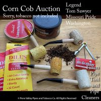 corn cob pipes at Pipeshoppe.com