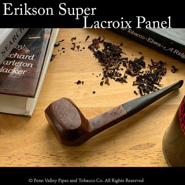 Lacroix Erickson Super vintage new briar pipe