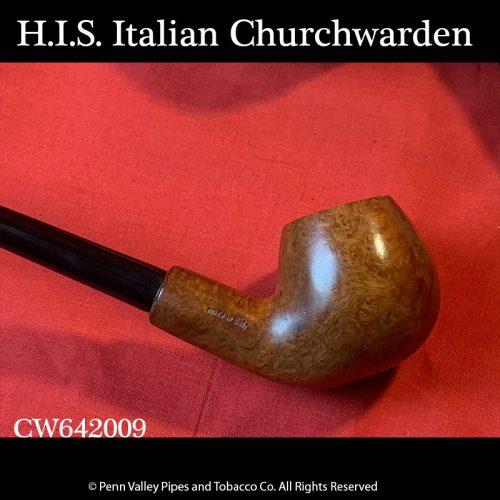 Imported Italian H.I.S. briar churchwardens at Pipeshoppe.com