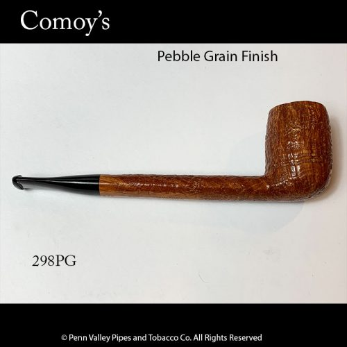 Comoy's pebble grain Canadian smoking pipe at pipeshoppe.com